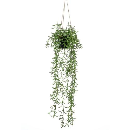 Emerald Kunstpflanze Senecio Hängend im Topf 70 cm