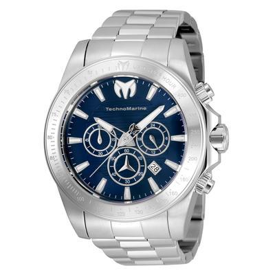 Technomarine Manta Grand Men's Watch - 47mm Steel (TM-220123)