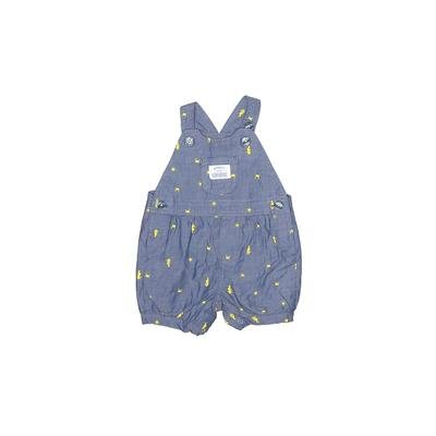 Just One You Made by Carters Overall Shorts: Blue Bottoms – Size 3 Month