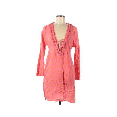 Bag Lady mudpie Swimsuit Cover Up: Pink Swimwear - Size Medium