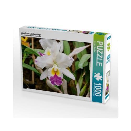 japanische Laeliocattleya Foto-Puzzle Bild von Jürgen Wöhlke Puzzle