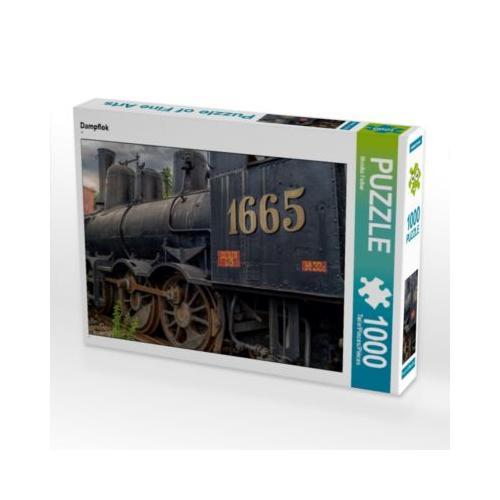 Dampflok Foto-Puzzle Bild von Foto Augenblicke-Zaubern mit Licht Puzzle