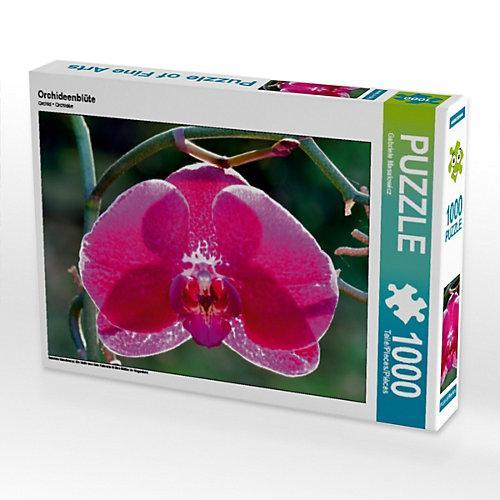 Orchideenblüte Foto-Puzzle Bild von Gabriele Masalowicz Puzzle