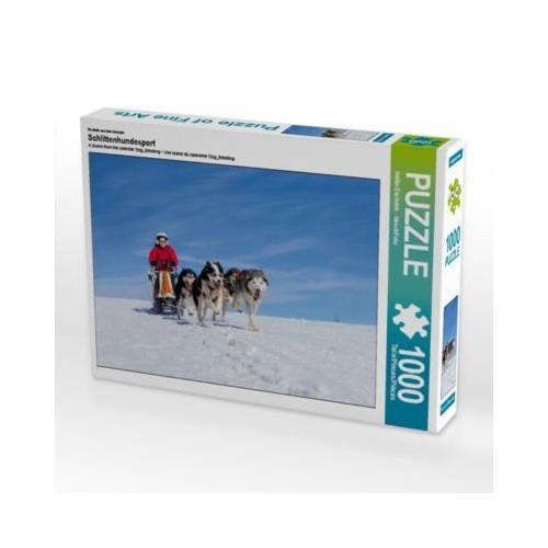 Schlittenhundesport Foto-Puzzle Bild von HeschFoto Puzzle