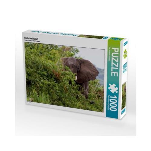 Hinter'm Busch Foto-Puzzle Bild von Hawkeyes-Pictures Puzzle