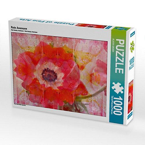 Rote Anemone Foto-Puzzle Bild von ALAYA GADEH Puzzle