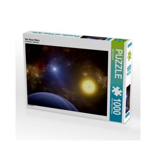 Der blaue Stern Foto-Puzzle Bild von Alain Gaymard Puzzle