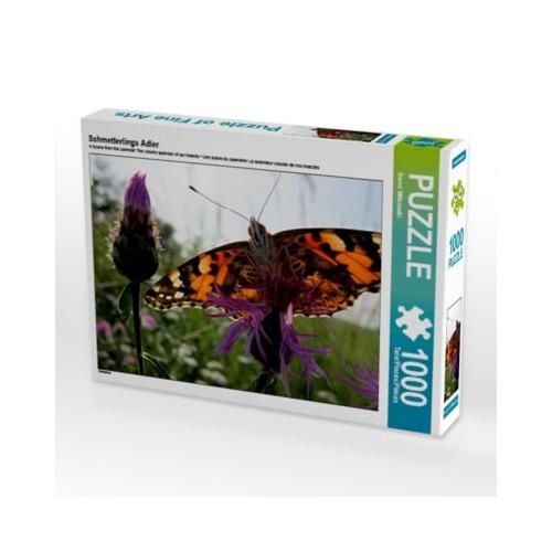 Schmetterlings Adler Foto-Puzzle Bild von Mico10 Puzzle