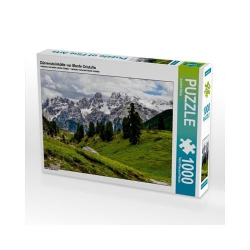 Dürrensteinhütte vor Monte Cristallo Foto-Puzzle Bild von Joachim Barig Puzzle