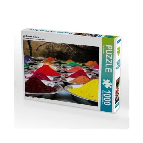 Die Farben Indiens Foto-Puzzle Bild von Uwe Bergwitz Puzzle