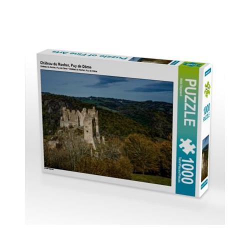 Château du Rocher, Puy de Dôme Foto-Puzzle Bild von Alain Gaymard Puzzle