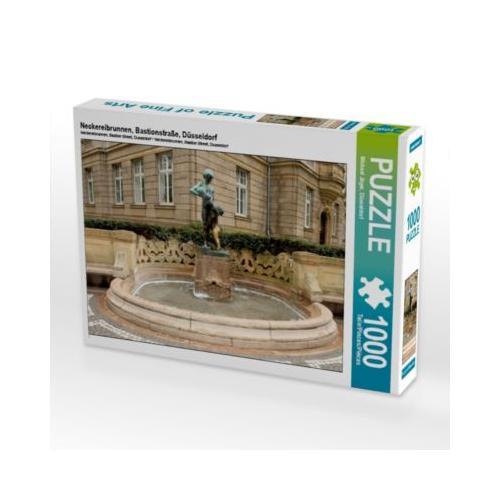 Neckereibrunnen, Bastionstraße, Düsseldorf Foto-Puzzle Bild von mitifoto Puzzle