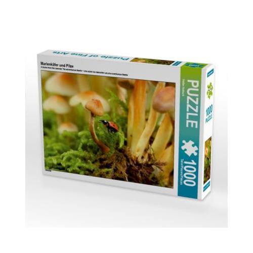 Marienkäfer und Pilze Foto-Puzzle Bild von Heike Hultsch Puzzle