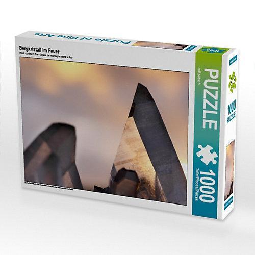 Bergkristall im Feuer Foto-Puzzle Bild von ropo13 Puzzle