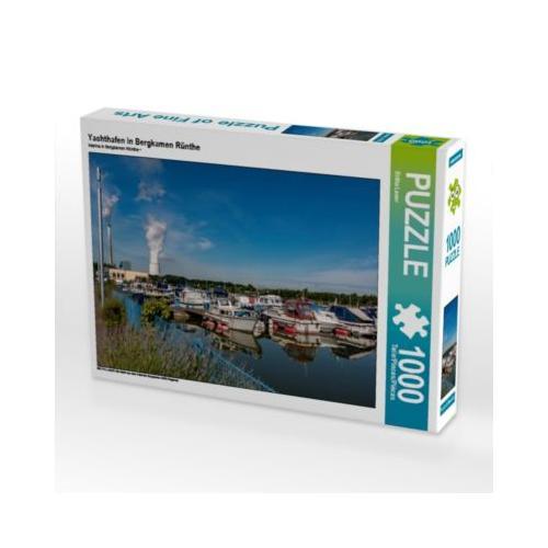 Yachthafen in Bergkamen Rünthe Foto-Puzzle Bild von Britta Laser Puzzle