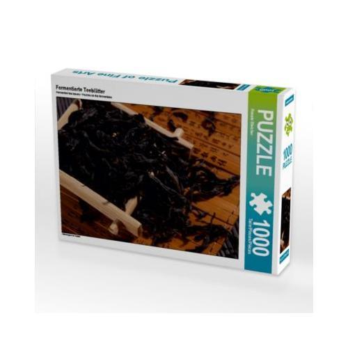 Fermentierte Teeblätter Foto-Puzzle Bild von Renate Bleicher Puzzle