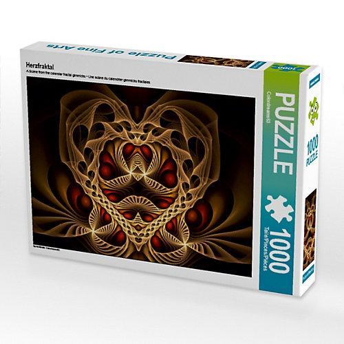 Herzfraktal Foto-Puzzle Bild von Colordreams63 Puzzle