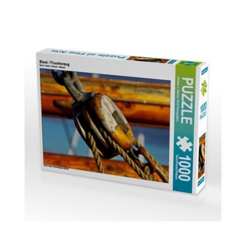 Block / Flaschenzug Foto-Puzzle Bild von NJS-Photographie Puzzle