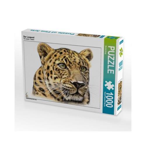 Der Leopard Foto-Puzzle Bild von Nicole Zeug Puzzle