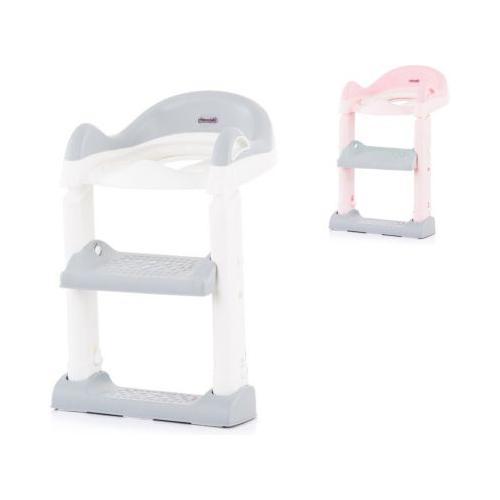 Toilettensitz mit Leiter Kindertoilettensitze grau