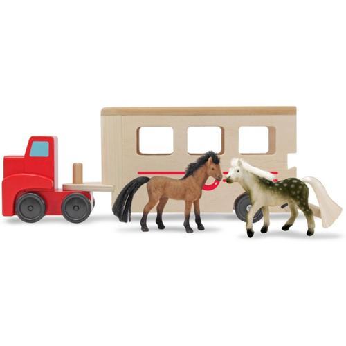 Pferdeanhänger aus Holz