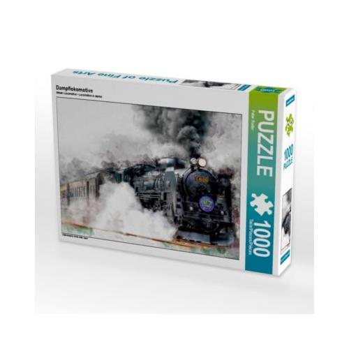 Dampflokomotive Foto-Puzzle Bild von Peter Roder Puzzle