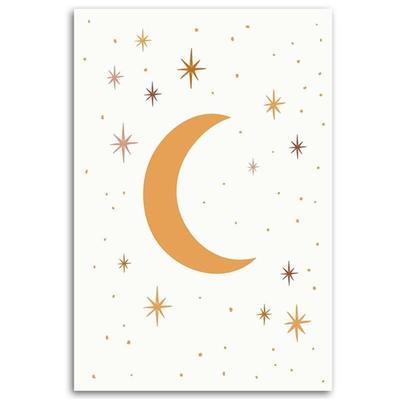 Tableau enfant starry night jaun...