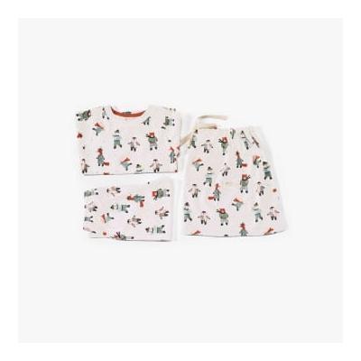 Pigeon Organics - Pyjamas In A Bag Skating Animals - 2-3 years