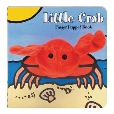 Abrams & Chronicle Books - Little Crab Puppet Book by Image Books