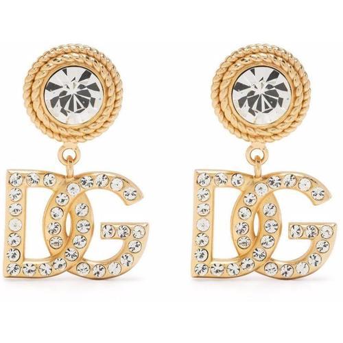 Dolce & Gabbana Ohrringe mit Kristallen