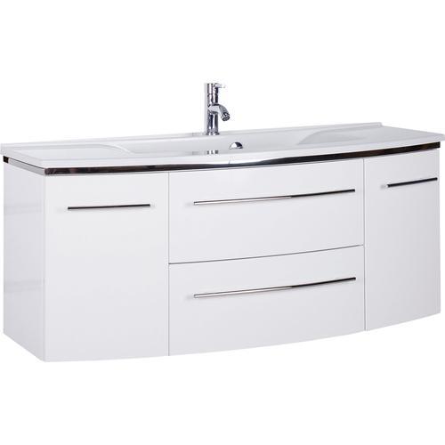 MARLIN Waschtisch, Breite 122 cm weiß Waschtisch Waschtische Badmöbel
