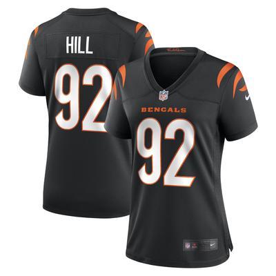 Women's Cincinnati Bengals B.J. Hill Nike Black Game Jersey