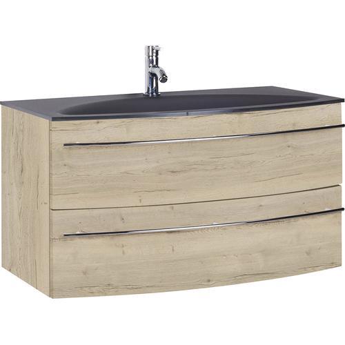 MARLIN Waschtisch, Breite 90,4 cm braun Waschtisch Waschtische Badmöbel
