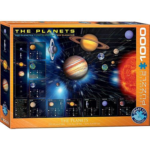 Puzzle 1000 Teile-Die Planeten