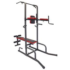 Health Gear CFT2.0 Functional Fitness Gym Style Training Power Tower & Adjustable Workout Bench System