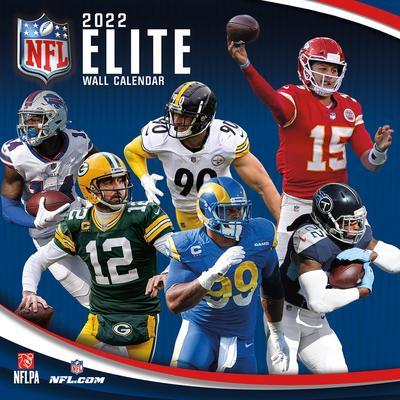 NFL 2022 Elite Wall Calendar