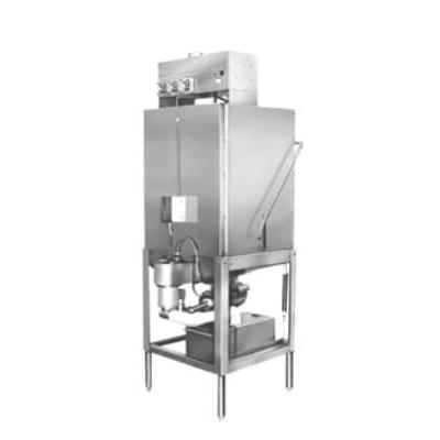 CMA Dishmachines S-AH Low Temp Door Type Dishwasher w/ 40 Racks/hr, 115v