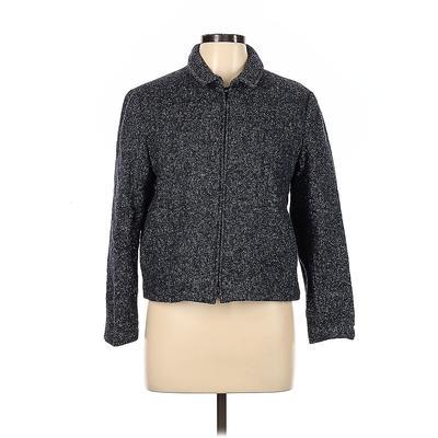 Talbots Jacket: Blue Jackets & Outerwear - Size 12