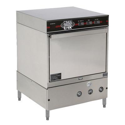 CMA Dishmachines L-1X W/HTR Low Temp Rack Undercounter Dishwasher - (30) Racks/hr, 115v