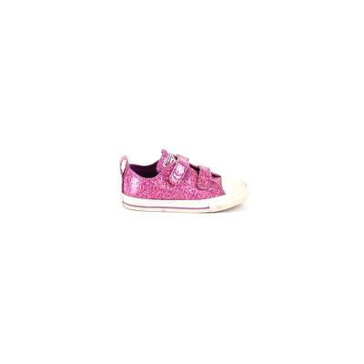 Converse Sneakers: Pink Solid Shoes - Size 3