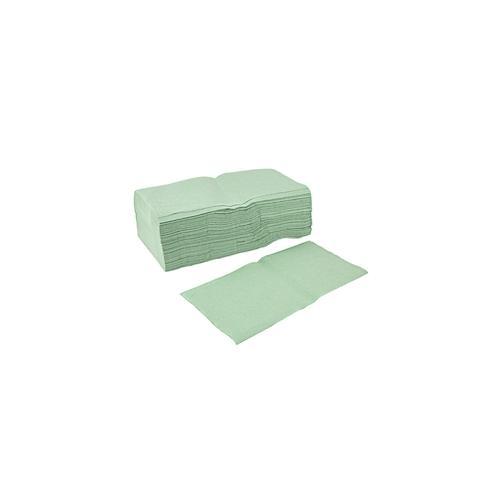 Papierhandtuch 5000 Stück 1-lagig gelegt Grün 23x25 cm Falthandtuch Papierhandtücher Handtuch