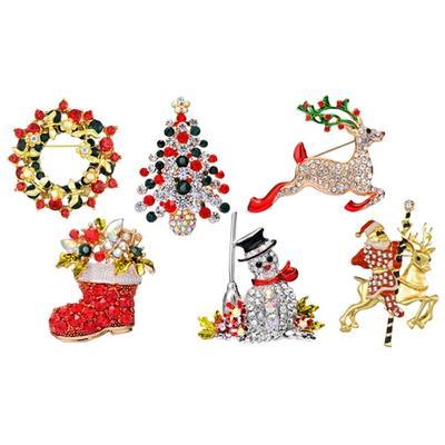 Philip Jones Christmas Brooch: R...