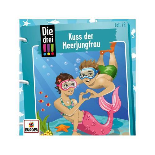 EUROPA Die drei !!! 072/Kuss der Meerjungfrau