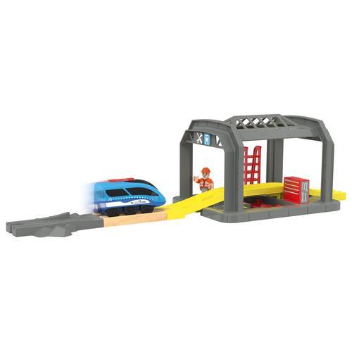 PLAYTIVE® RFID Bahn (mit Werkstatt)