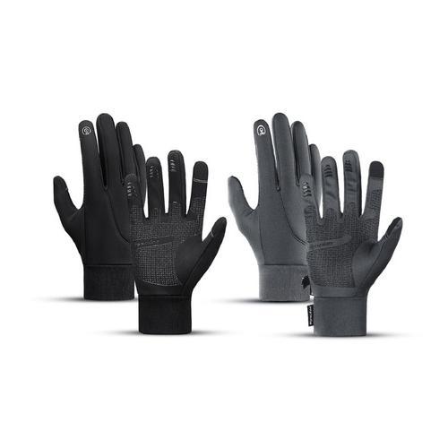 Touchscreen-Handschuhe: 1/ Grau/ Gr. XL