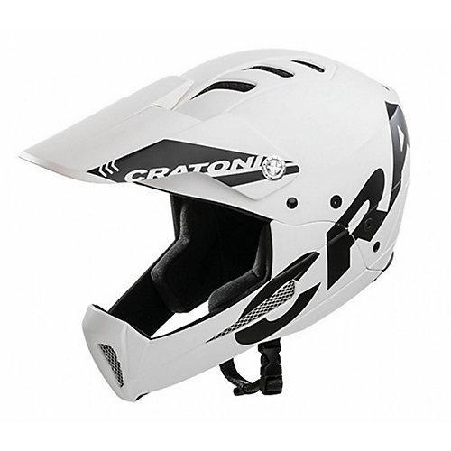 Fullface MTB-Helm Shakedown weiß