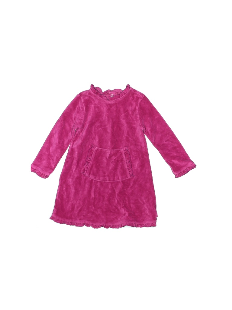 The Children's Place Dress - Shift: Pink Solid Skirts & Dresses - Used - Size 24 Month