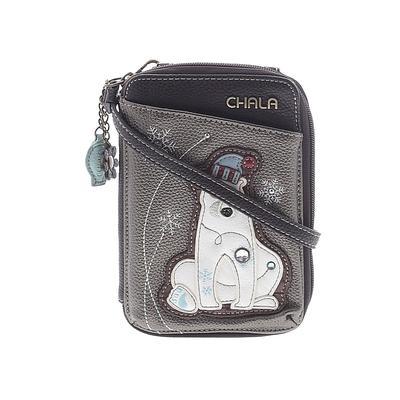 Chala Handbags Crossbody Bag: Brown Solid Bags