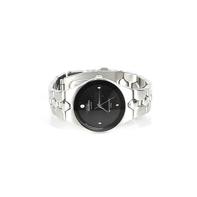 Armitron Watch: Silver Solid Accessories