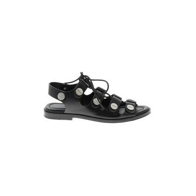 Alexander Wang Sandals: Black Solid Shoes - Size 38